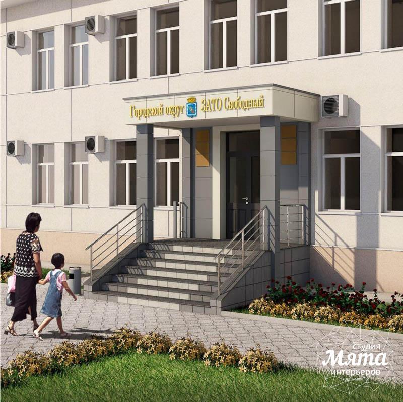Дизайн-проект входной группы Муниципального учреждения п. Свободный img531757489