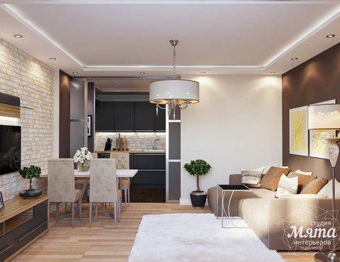 Дизайн интерьера трехкомнатной квартиры по ул. Фурманова 103