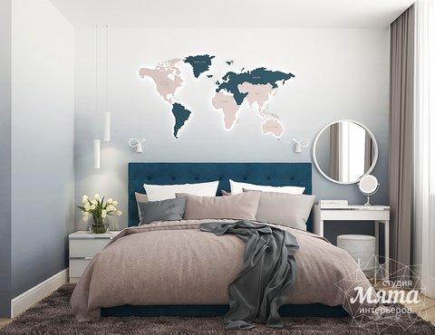 Дизайн интерьера двухкомнатной квартиры ЖК Лучи в Москве