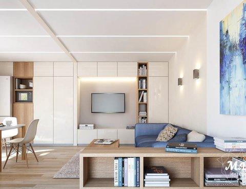 Дизайн интерьера дома модульного  Екатеринбург
